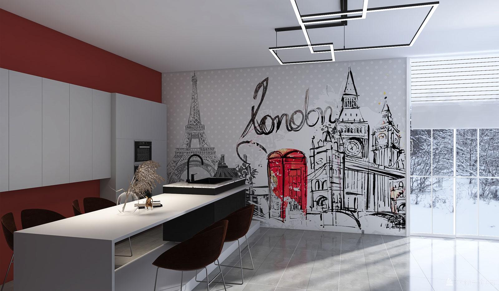 Model Tapet Londra