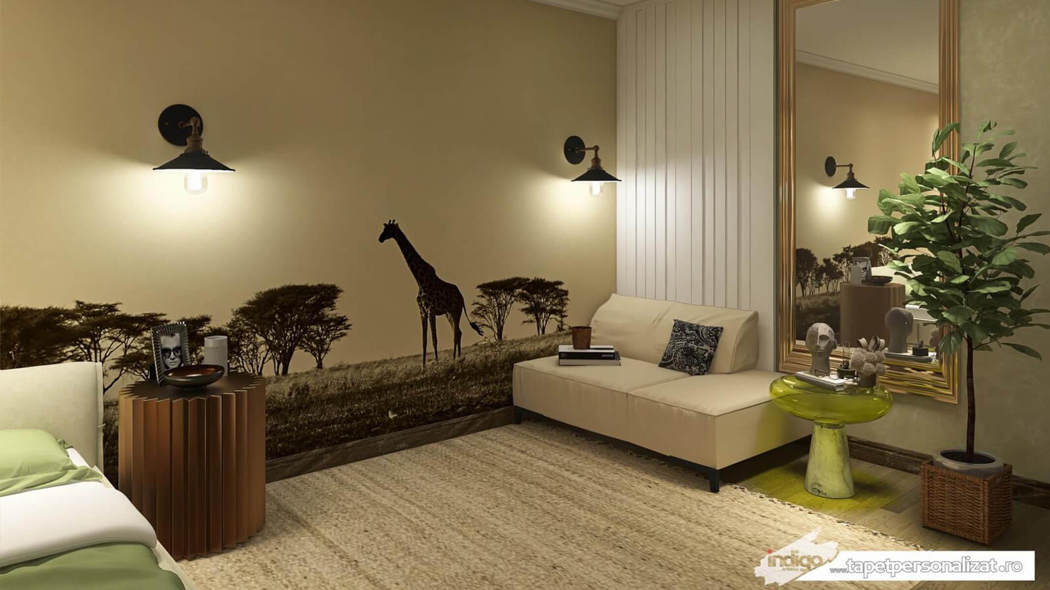 Model Tapet – Savana Safari